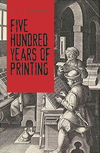 500 years of printing