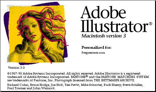 Adobe Illustrator 3