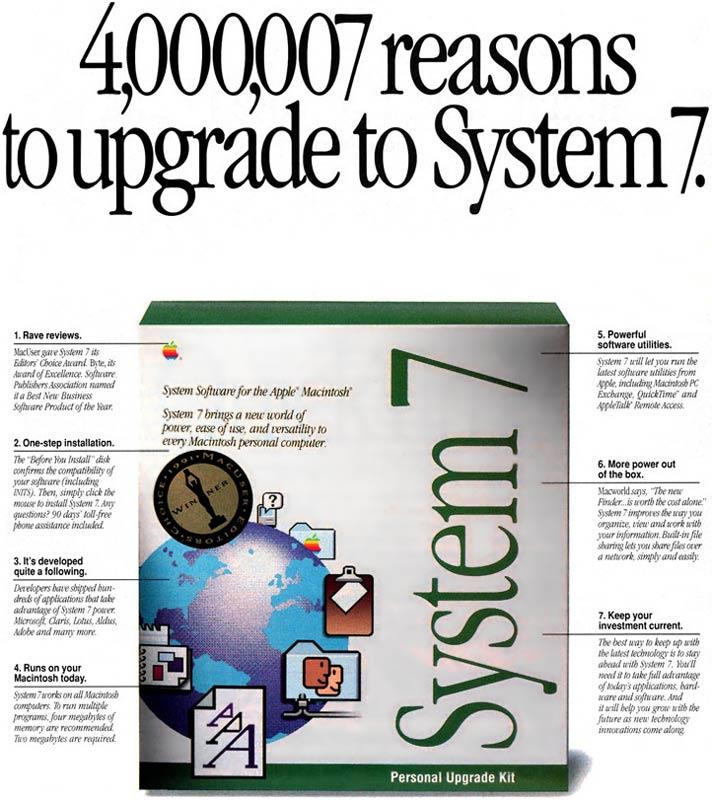 Apple System 7