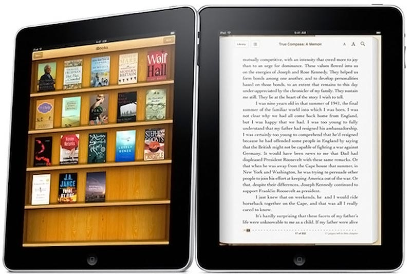 Apple iPad & iBooks app