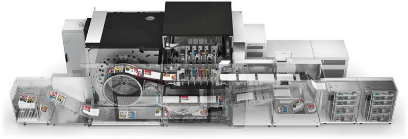 Canon varioPRINT iX inkjet printing press