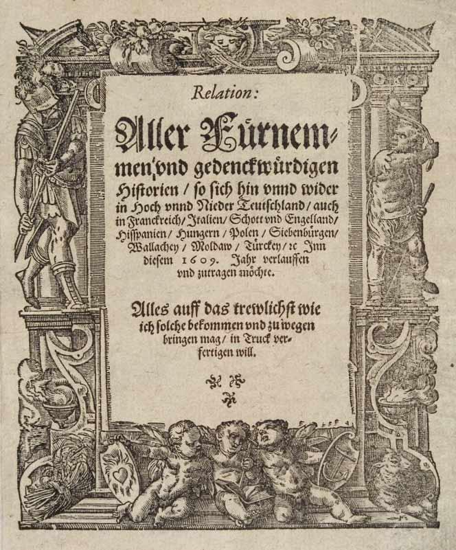 Carolus- the first printed newspaper