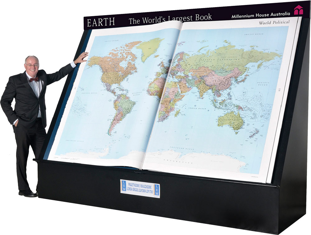 Earth Platinum - largest atlas
