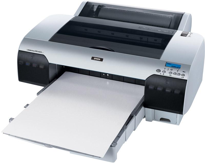 Epson Stylus Pro 4800 with K3 inks