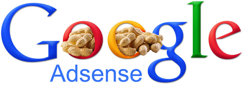 Google Adsense peanuts revenue