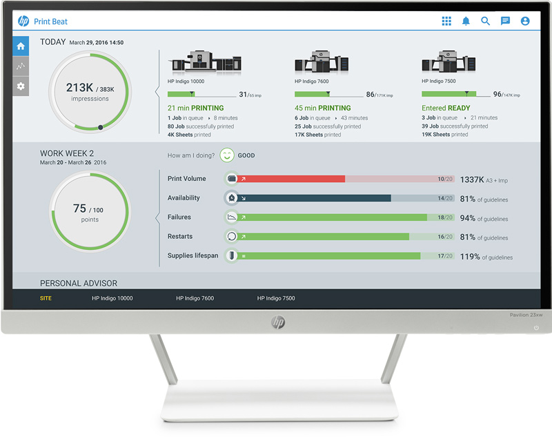 HP PrintOS cloud solution