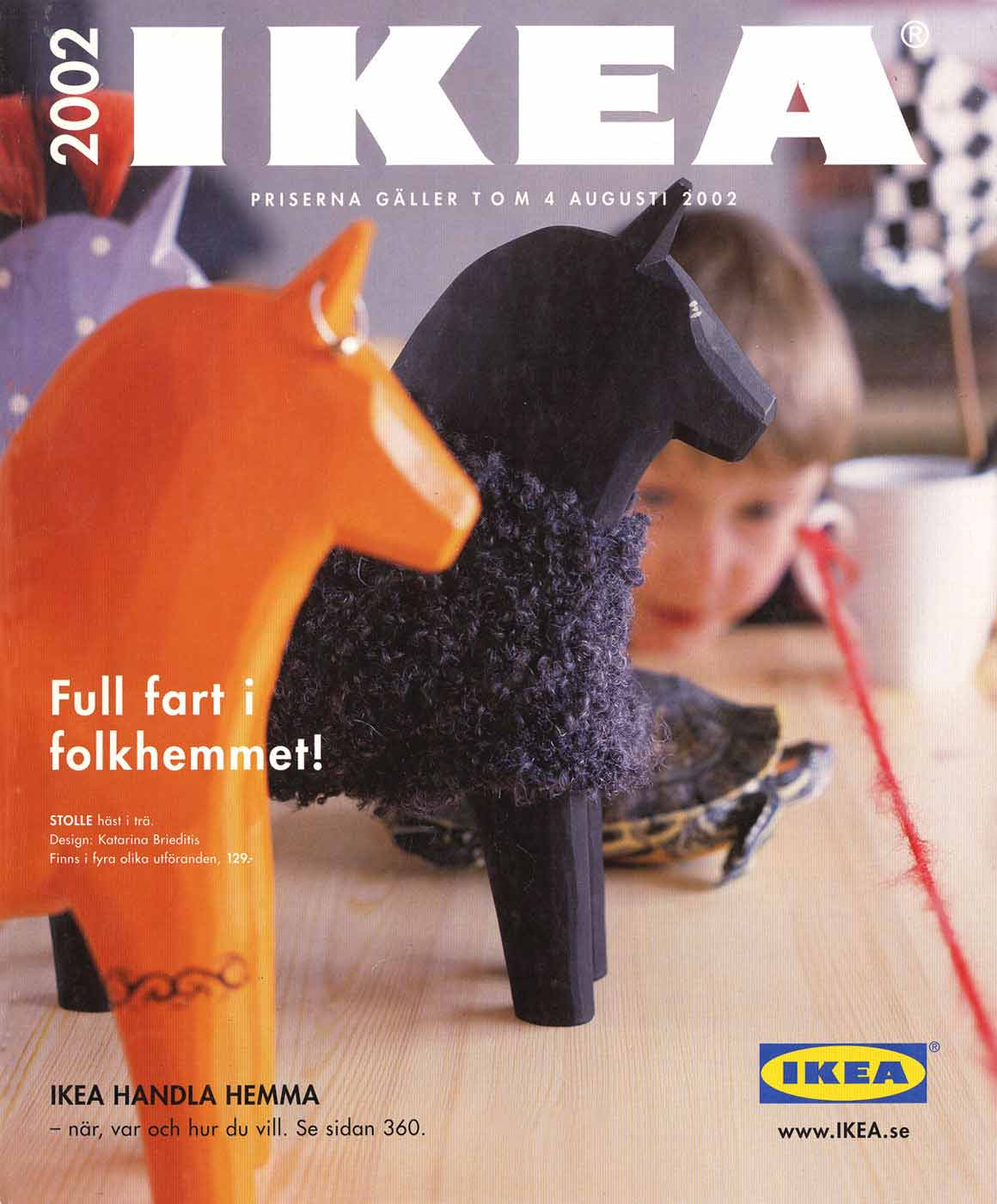 Ikea 2002 Catalog (Swedish edition)