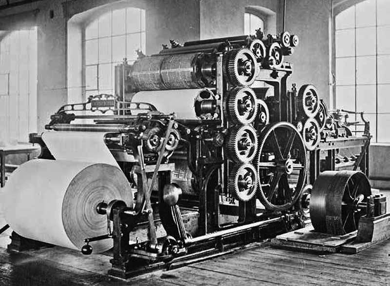 KBA webfed rotary press