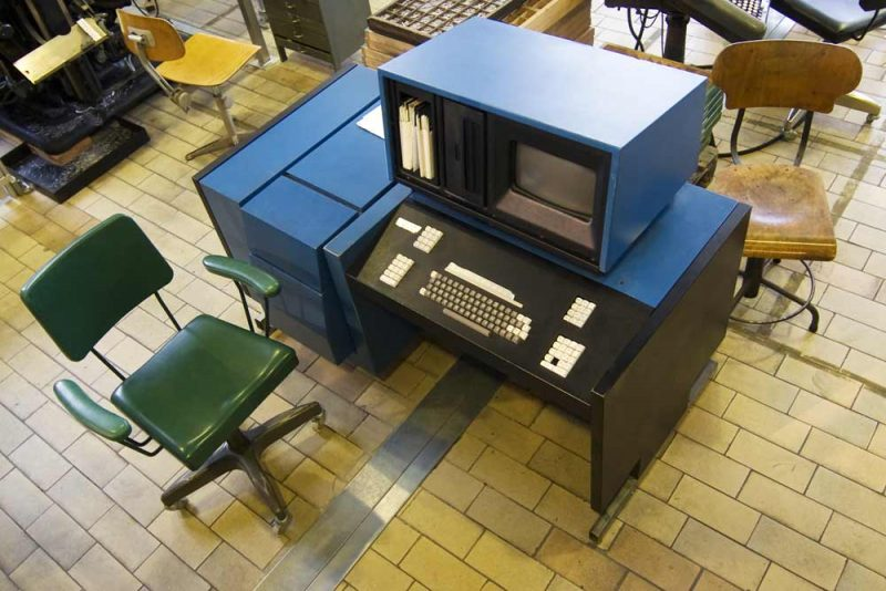 The Agfa Compugraphic Editwriter 7500