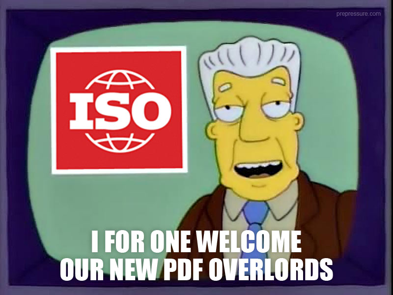 I for one welcome our new PDF overlords