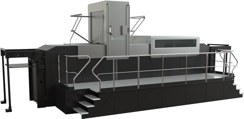 Scodix E106 digital enhancement press