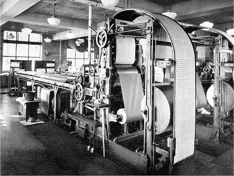 Stickney stamp printing press