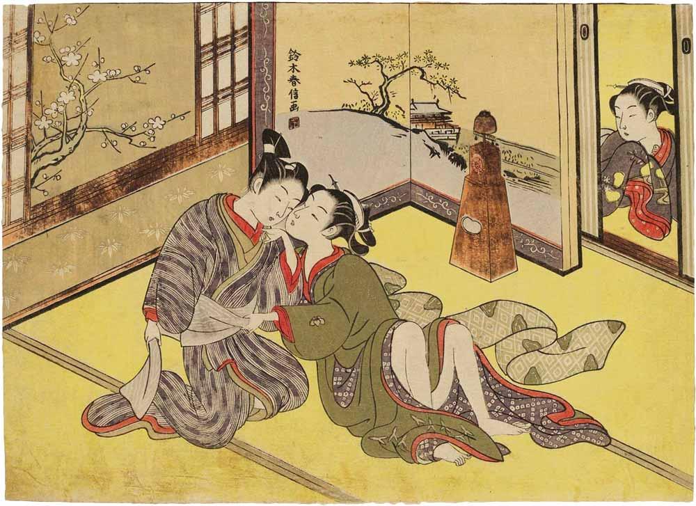 Suzuki Harunobu - nishiki-e print