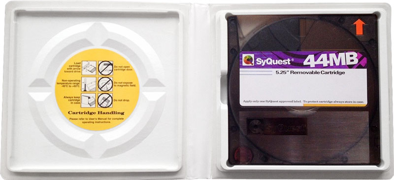 Syquest cartridge in box