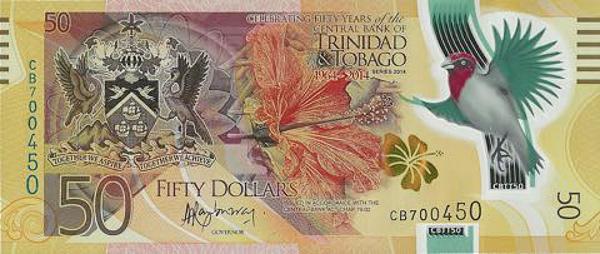 Trinidad and Tobago polymer banknote