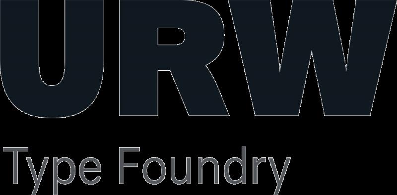 URW type foundry logo