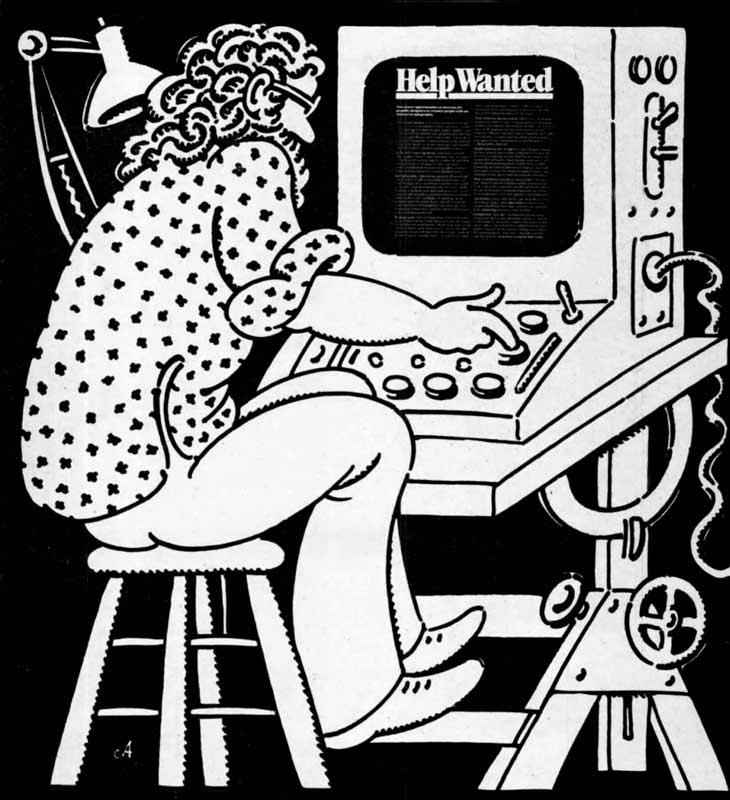 U&lc illustration John Alcorn