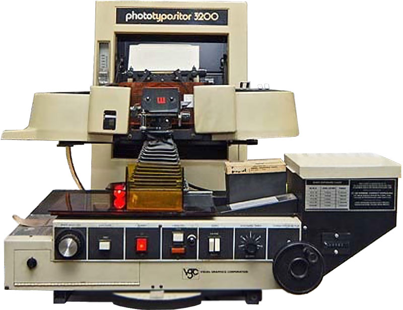 Phototypositor 3200