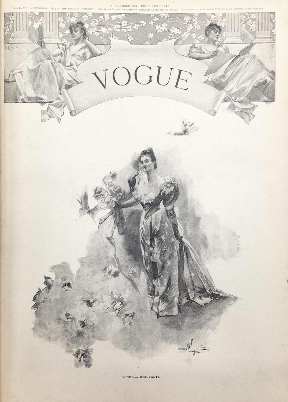 Vogue - first issue