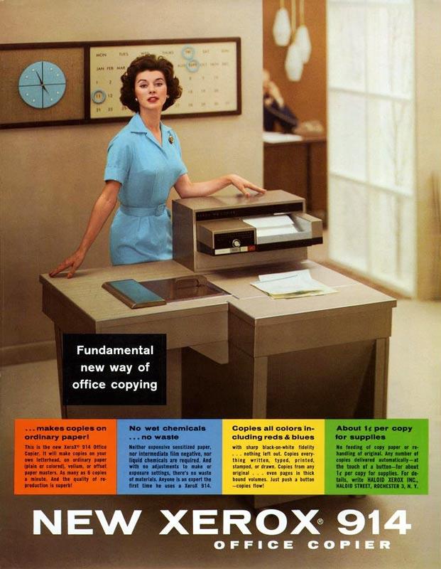 Xerox 914 plain paper copier