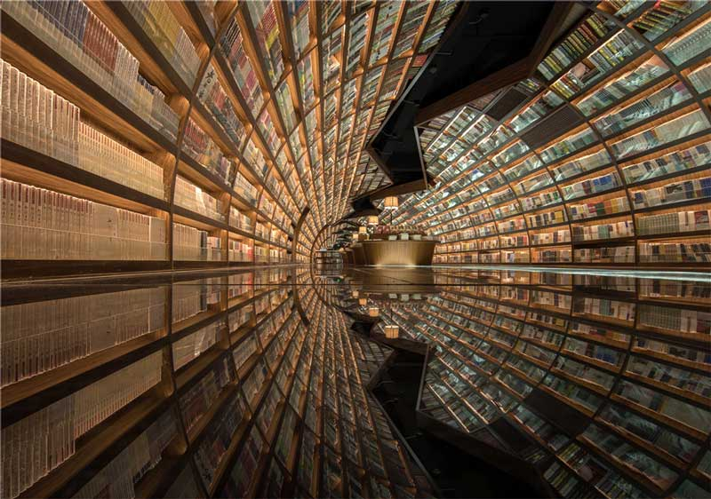 Zhongshuge bookshop in Yangzhou, China