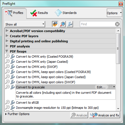 How to convert a color PDF to grayscale | Converting PDF