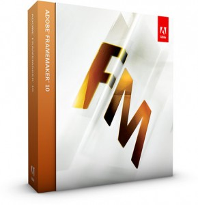 Framemaker is part of the Adobe Technical Communication Suite
