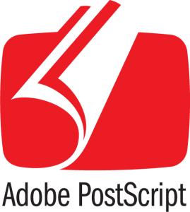 Adobe PostScript logo