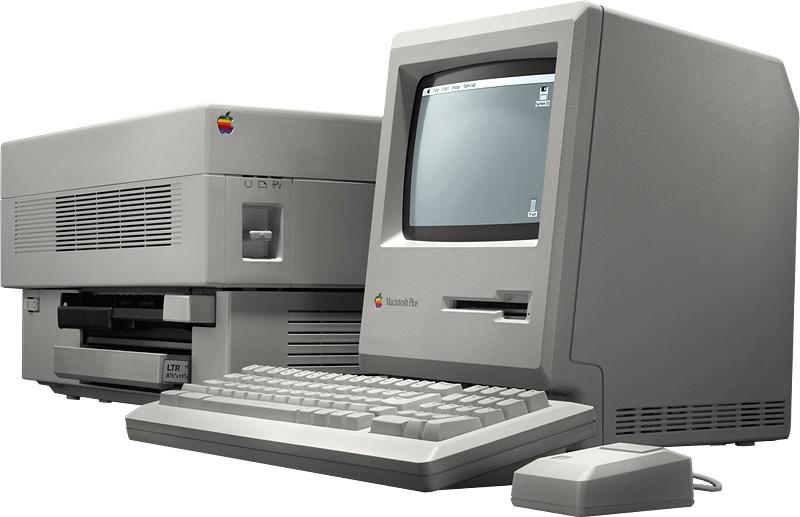 Apple Mac andd LaserWriter