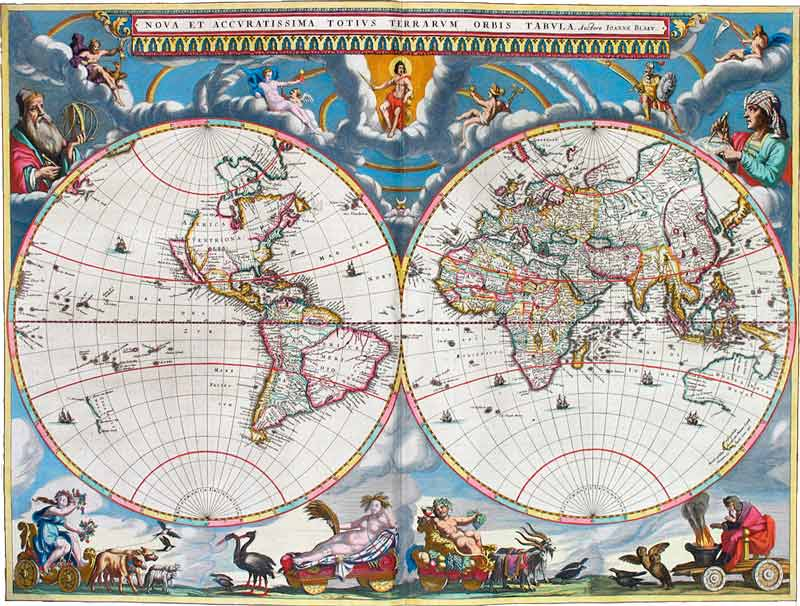Atlas Maior by Joan Blaeu