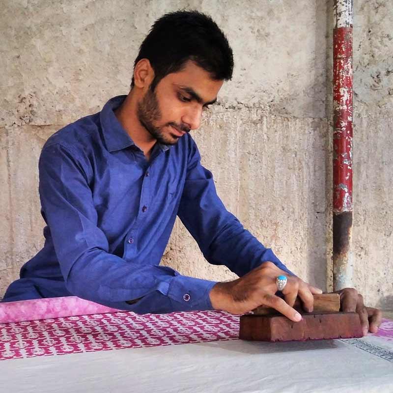 block printing India
