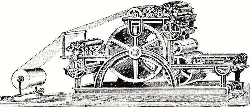 Bullock rotary press