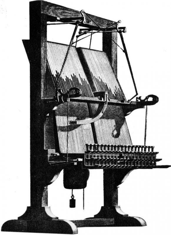 Church typesetting machine