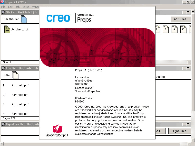 Creo Preps 5.1