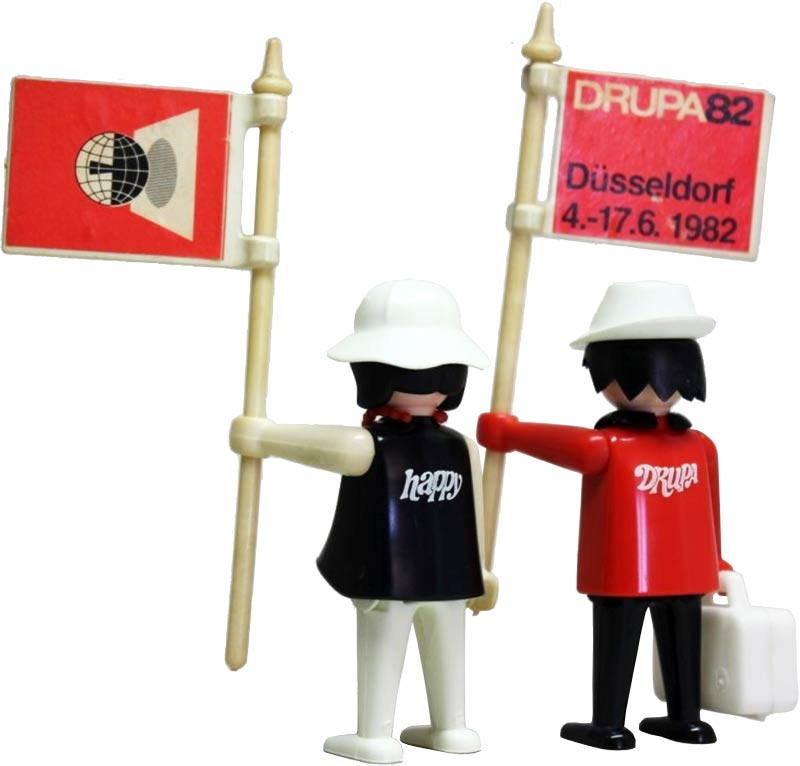 Playmobil drupa figurines