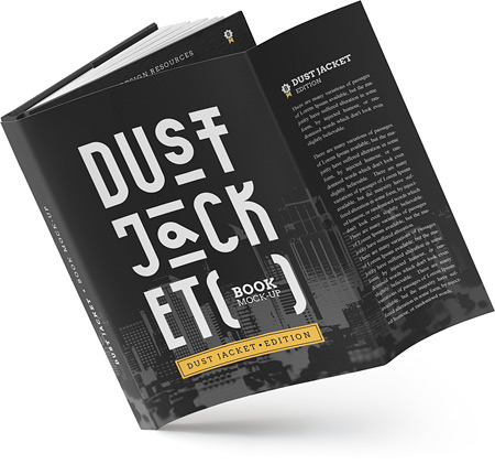 dust jacket - protective book cover