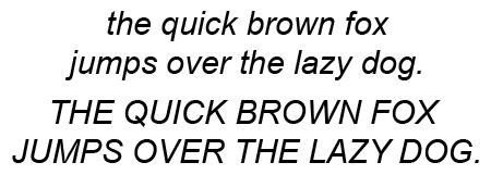 Arial Italic