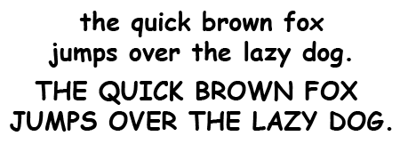 Comic Sans Bold