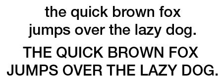 The Helvetica Neue 65 roman typeface