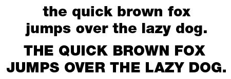 The Helvetica Neue 95 Black typeface