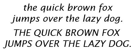Lucida Sans Italic