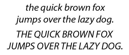 Myriad Pro Italic