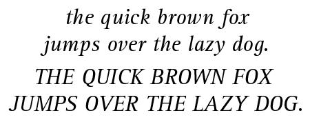 Rotis Serif 56 Italic