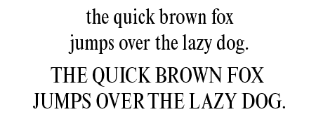 The Times New Roman font | 30 typefaces - their look