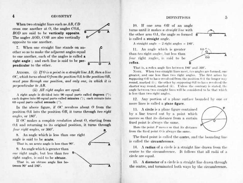 School Geometry - a classic school book