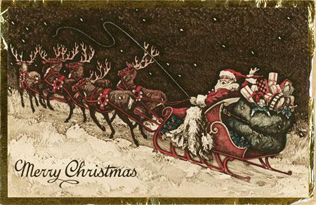 Hallmark Christmas card from the early 1900s