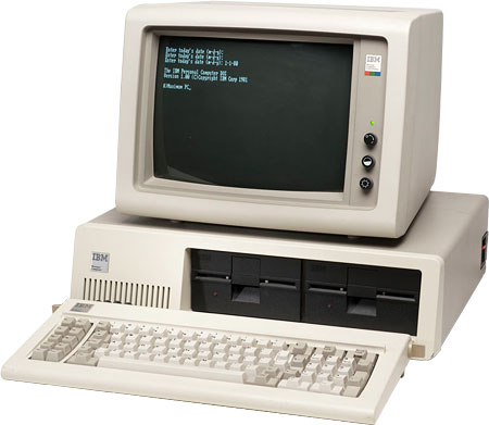 The IBM PC was introduced in 1981