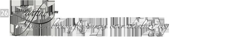 important fonts - zapfino