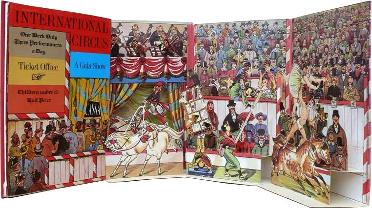 International Circus - popup book