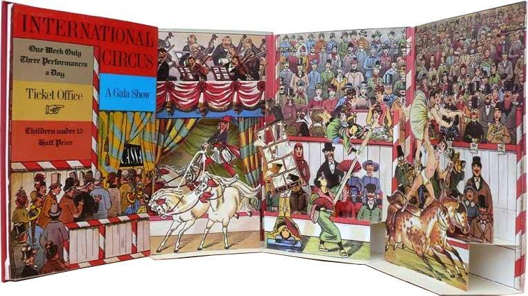 International Circus - popup book